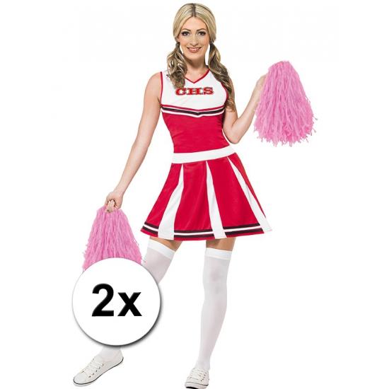 Cheerballs roze 2 stuks