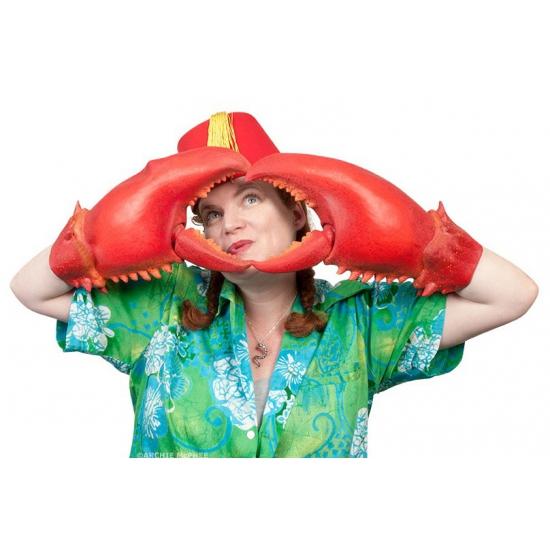 Grote krabben handschoenen (bron: Piraten-feestwinkel)
