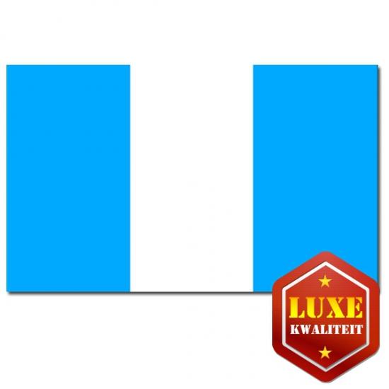 Luxe vlag Guatemala
