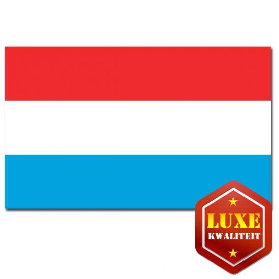 Luxe vlag Luxemburg