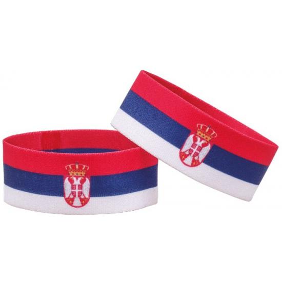 Supporter armband Servie (bron: Piraten-feestwinkel)