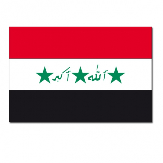 Vlag Irak 90 x 150 cm