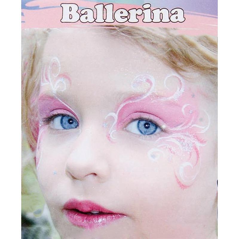 Ballerina schminken schminkset 6 delig Geen Kopen
