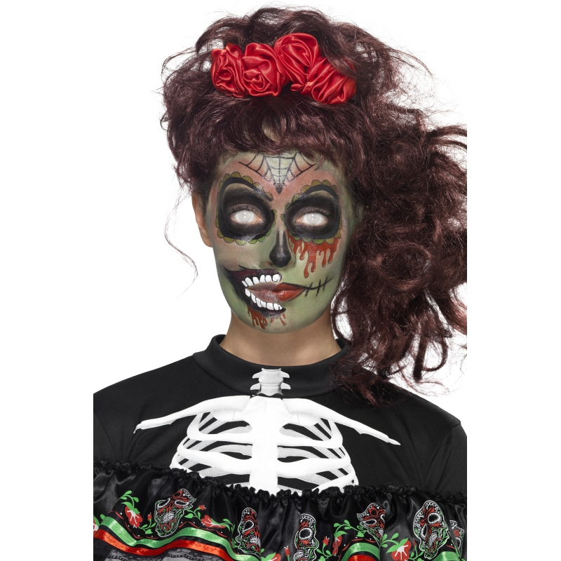Smiffys Day of the Dead schmink set zombie Verkleedaccessoires