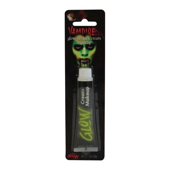 Verkleedaccessoires Glow in the dark make up tube