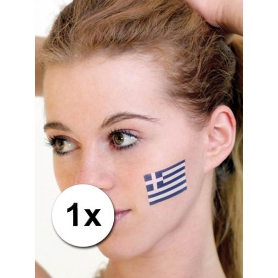 Landen versiering en vlaggen Landen vlag tattoo Griekenland