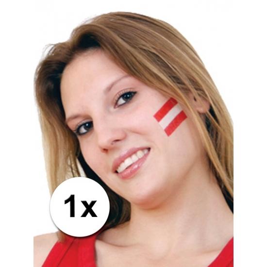 Landen vlag tattoo Oostenrijk Geen Premier