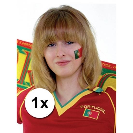 Landen versiering en vlaggen Geen Landen vlag tattoo Portugal