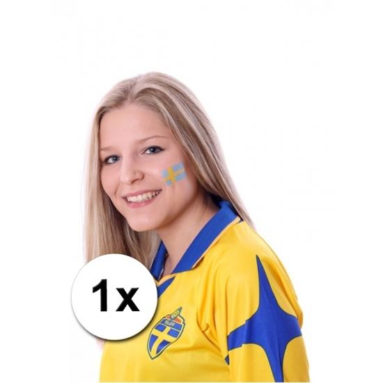 Landen versiering en vlaggen Landen vlag tattoo Zweden