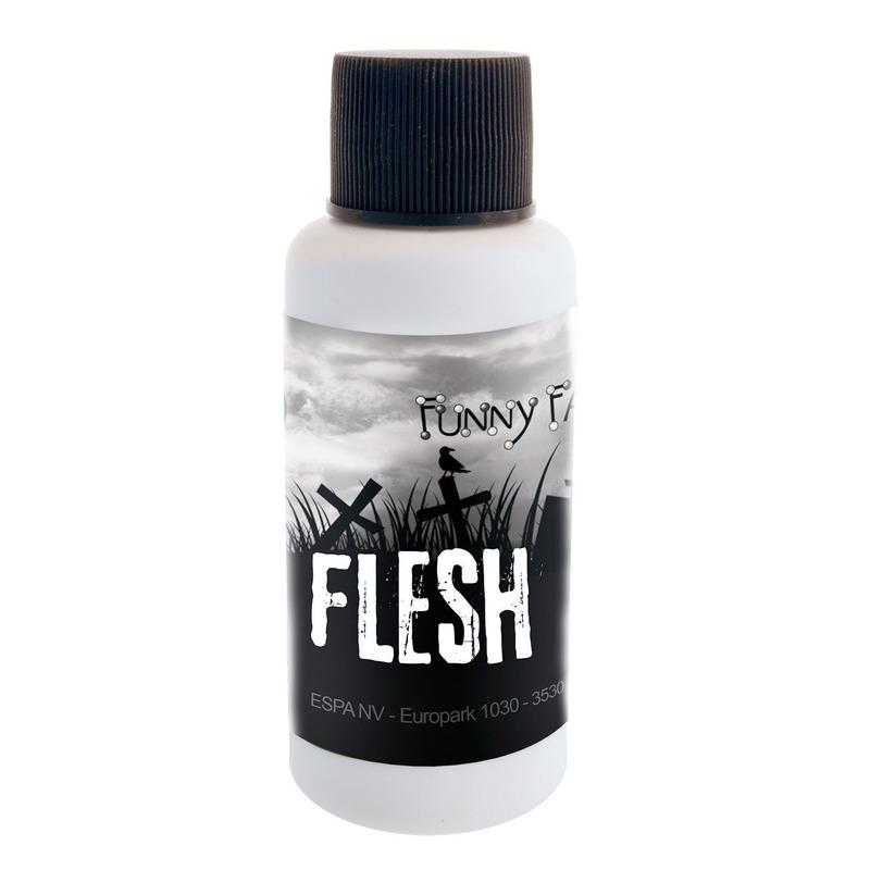 Geen Latex rottende huid flacon 30 ml voor halloween Verkleedaccessoires