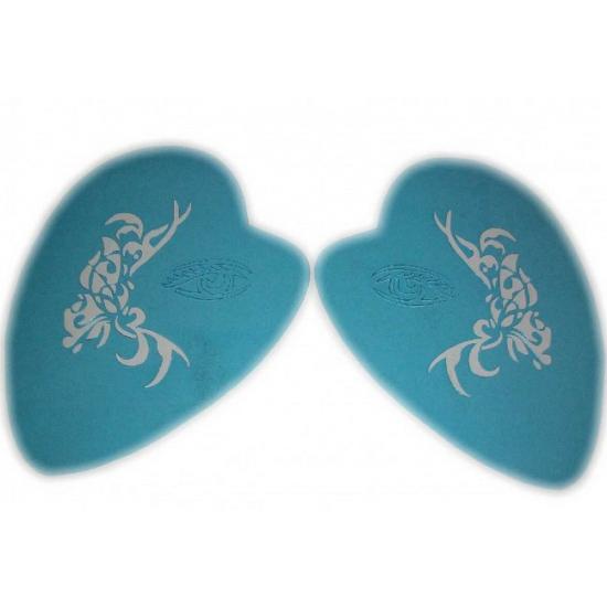 Verkleedaccessoires Schmink sjabloon vlinder tribal