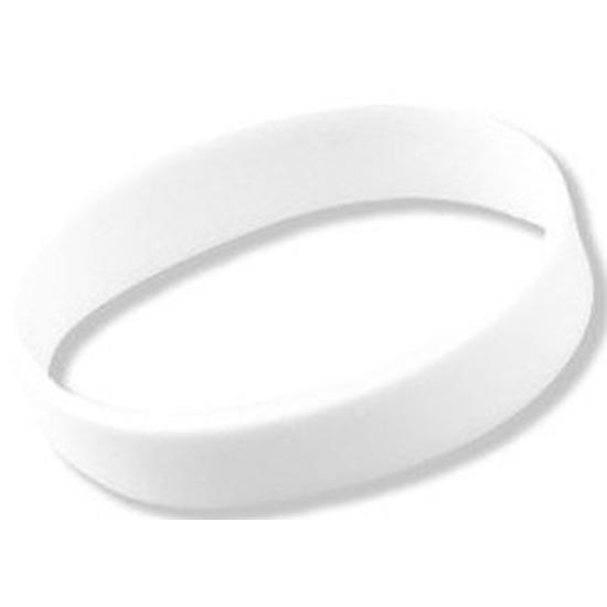 Siliconen armband wit