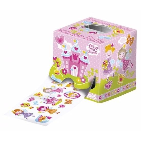 Stickerrol meisjes thema prinsessen