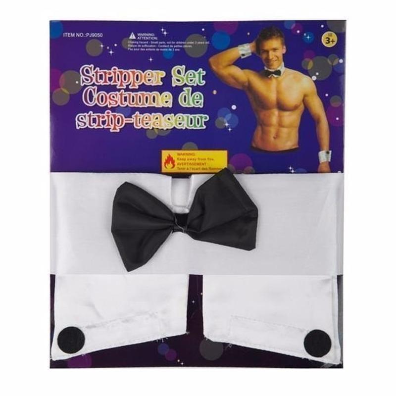 Stripper setje voor heren