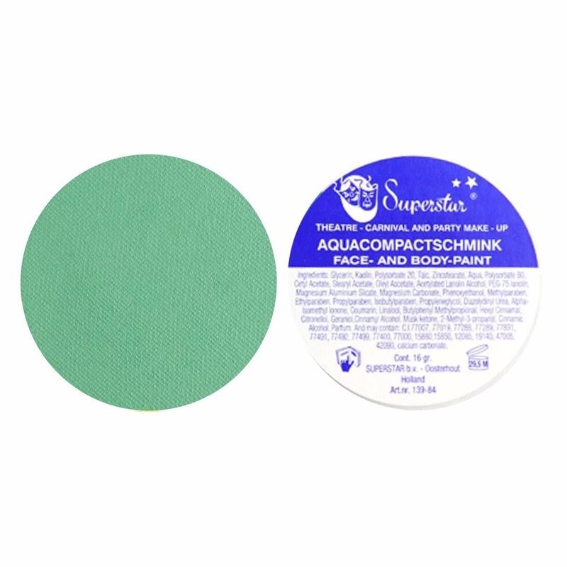 Verkleedaccessoires Superstar schmink groen