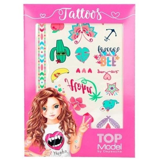 TopModel plak tattoos metallic voor meisjes Geen Hoge kwaliteit
