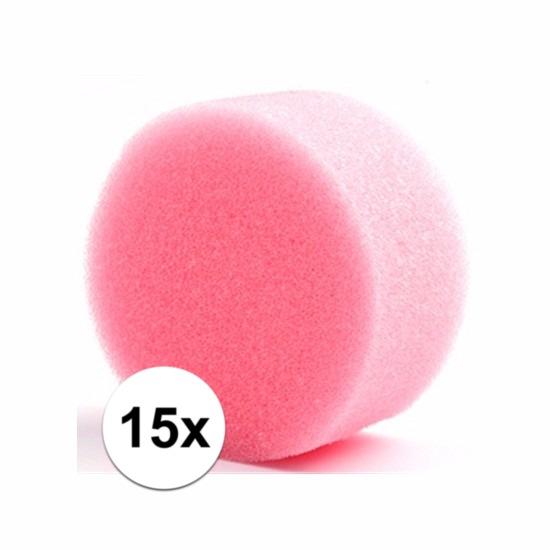 waanzinnige korting 10% Korting Vijftien ronde grimas schmink sponsjes