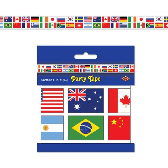 Wereld markeerlint internationaal 6 meter