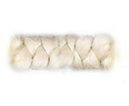 Pruiken Geen Wol crepe wit 100 cm